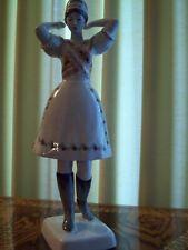 Hallohaza Dancing Girl In Boots Figurine