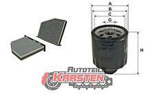 Set S: Innenraumfilter+Ölfilter Inspektionspaket SEAT SKODA VW