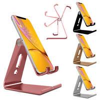 Verstellbar Faltbar Metall Ständer Handy Halter für Panasonic Toughpad FZ-Y1