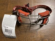 Adidas Eqt Oqular Lacrosse Goggles Bs4319 Titanium Cage $60 Msrp New with Tags