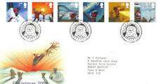 Fancy Cancel Seasonal, Christmas Decimal Great Britain Stamps
