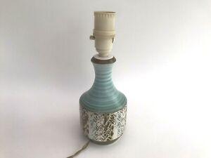 Vintage Ceramic Mid Century Modern Lamp Base