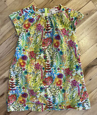 J. CREWCUTS PRETTY COLORFUL DRESS SZ 3 EUC