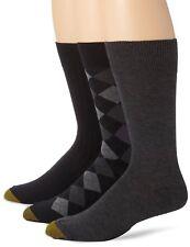 Gold Toe Men's Classic Dress Socks, Assorted Colors, 3 Pairs