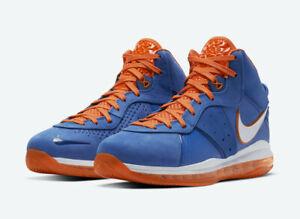 Nike Lebron 8 Hardwood Classic | Blue/Orange | CV1750-400 | Ships Fast+Free!