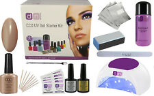 CCO UV LED FIELD FOX Nail Gel Polish Varnish Starter Kit Choice of Lamp FREE P&P