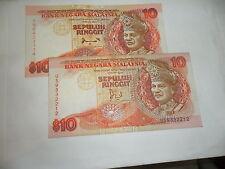 Malaysia RM10 jaafar US9332212 ahmad don YN8423114