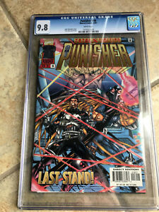 THE PUNISHER Vol. 2 #16 cgc 9.8 1997 Series - featuring X-MEN Villain X-CUTIONER