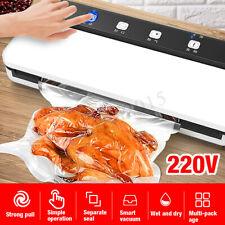 220V Automatic Food Vacuum Sealer Saver Packing Sealing Machine W/ Storage Bag