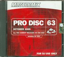 Pro Disc Mastermix 63 - Depeche Mode/Mariah Carey/Paul Anka Cd Sigillato