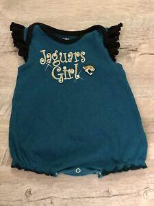 Jacksonville Jaguars NFL INFANT BABY NEWBORN Jaguars Girl jersey 0-3M 0-3 Months