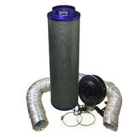 """8/"""" haute puissance ventilateur et 8/""""//400 PREMIUM Viper Carbone Kit De Filtre Hydroponique"""