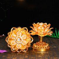USB Lotus Lamp Lightweight Buddhist Lotus Lamp Buddhist Supplies for Temple Home