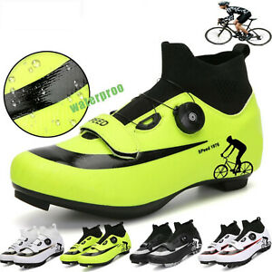 Professional Winter Men MTB Cycling Shoes High-top Road Bike Sneakers Spd Cleats
