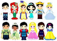 20 water slide nail decals diy manicure Valentines Disney Princesses trending