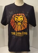 Lion King The Broadway Musical T-shirt Black Perfect!