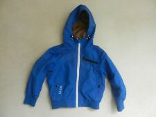 Next Boys Lightweight Spring Summer Coat Jacket Bright Blue Age 3 Years Lovely