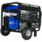 DuroMax XP10000EH 10,000-Watt Electric Start Dual Fuel Hybrid Portable Generator <br/> Free Shipping! Home Standby Power - 3 Year Warranty