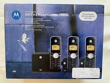 Motorola DECT 6.0 Cordless Phone with 3 Handsets L303