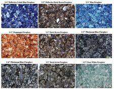 Tempered Fireglass For Fireplace & Fire Pit For Sale ~ 10 Pound Lbs