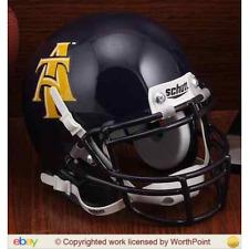 NORTH CAROLINA A&T AGGIES NCAA Schutt XP Authentic MINI Football Helmet