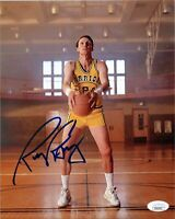 """~ RICK BARRY Authentic Hand-Signed """"Golden State Warrior"""" 8x10 Photo (JSA COA) ~"""