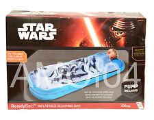 Star War Ready Bed Kids Sleeping Bag Solution Sleep Portable Air Mattress New