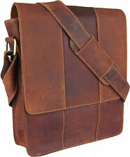 UNICORN LONDON Real Leather Bag iPad, Kindle, Tablets Holder - Cognac Tan #5G