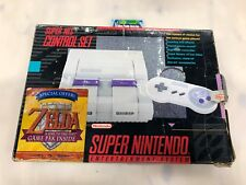 Super Nintendo Entertainment System Control Set TESTED , COMPLETE IN BOX