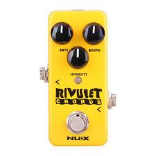 NUX NCH2 RIVULET GUITAR CHORUS MINI EFFECTS PEDAL