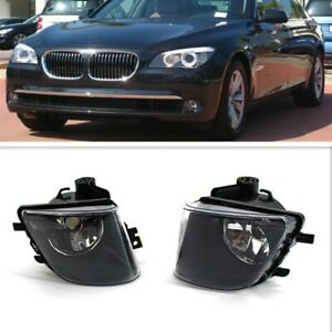 Left&Right Front Bumper Fog Light Lamp For BMW 7 Series F01 F02 F03 2009-2013