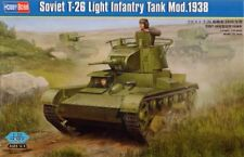 Hobby Boss 1/35 Soviet T-26 Light Infantry Tank Mod.1938 # 82497