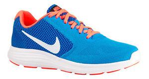 NIKE Damen Sneaker Gr 38,5 Revolution 3 819303-402 Turnschuhe Türkis Blau Pink
