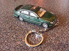 Diecast Lexus GS Saloon Green Toy Car Keyring Keychain
