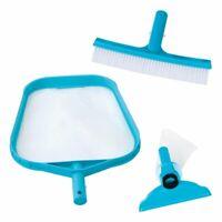 Intex 29056 Set Di Pulizia Retino Spazzola Testa Azzurro Nuova Versione