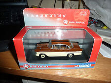 VANGUARDS VA03810 VAUXHALL VICTOR HAVANA BROWN REGENCY CREAM