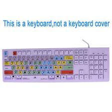 Adobe Premiere Pro CC Shortcuts Keys USB Keyboard For PC,Window,iMac,Macbook