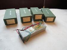 (4) NOS Sodeco Geneve Swiss ITD 1TD Impulse Counter 1-Digit One-Digit Panel