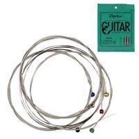 Orphee 6 Stuecke / Satz E-Gitarre String Set Nickel Legierung String Super  Y5P3