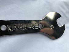 Nos Kingsbridge CHROME Cone Wrench 13-14 Vintage Road, Racing , Bmx Bike tool