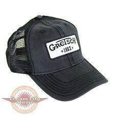 Brand New Gretsch Limited Trucker Baseball Hat Cap  Vintage 1883 Logo Patch Mesh