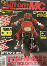 Alltom MC Magazine August 1994 Superrallyt Europas Strosta Indian Big Cheif