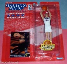 1997 KEITH VAN HORN New Jersey Brooklyn Nets Rookie - low s/h - starting lineup
