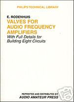 Valves for Audio Frequency Amplifiers