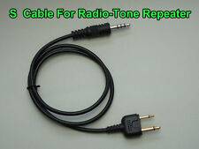 Radio-tone Repeater Cable For ICOM IC-V8, IC-F10, IC-F20, IC-V21, IC-V2