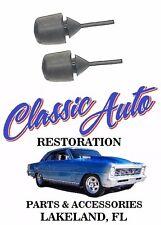 GM License Plate Bumper Stopper Rubber Set of 2