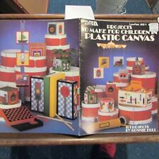 Leisurer Arts plastic canvas pattern book Projects to make for Children Help