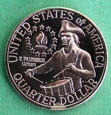 1976 40% Silver Proof Washington Quarter 25c Coin Twenty-Five Cents Drummer Boy