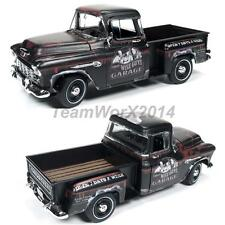 "AUTOWORLD AWSS115 1955 CHEVROLET STEPSIDE PICKUP TRUCK ""THE THREE STOOGES"" 1:18"