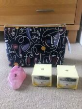 M&S Wash bag, Rose Quartz Soap and 2x Olay Complete Night cream 50ml. New